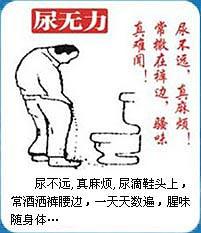 前列腺炎导致尿无力